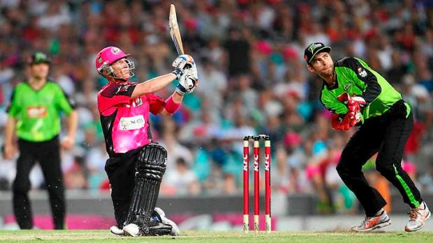 A bit hit: The Big Bash aims to go even better with free-to-air coverage in season two.