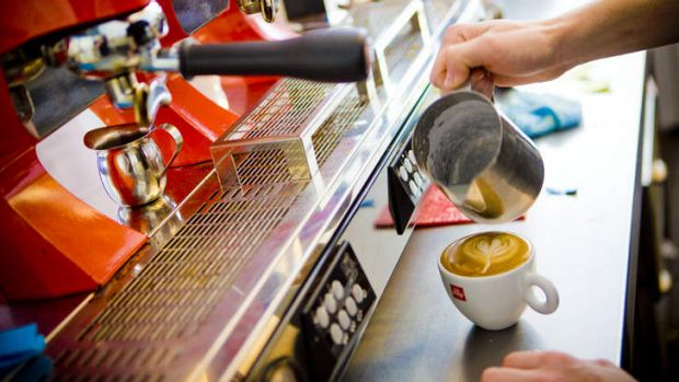 A Canberra barista has won a payout of almost $600,000 after suffering permanent injury after years of steaming milk.