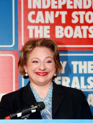Sophie Mirabella is about to join the board of the Australian Submarine Corporation.