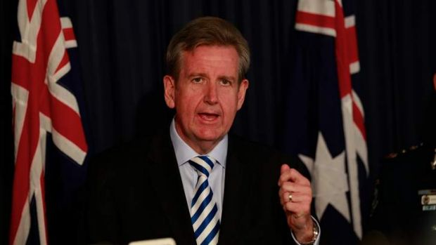 """NSW Premier Barry O'Farrell vowed to """"clean up corruption"""" in politics, after the NSW political donations law was struck ..."""
