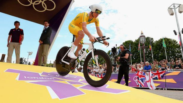 Defiant: Michael Rogers, seen here at the 2012 London Olympic Games, has vowed to defend himself after testing positive ...