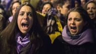 Protests as Spain restricts abortions (Video Thumbnail)