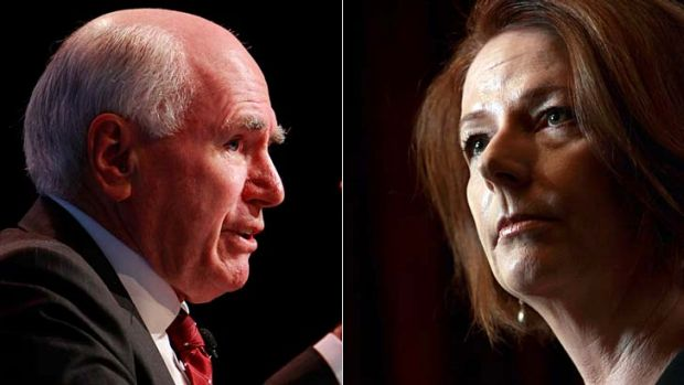 John Howard and Julia Gillard both had their share of haters.