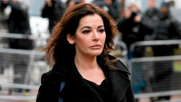 Nigella Lawson arriving at court last December.