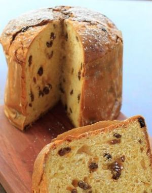 The iconic panettone.