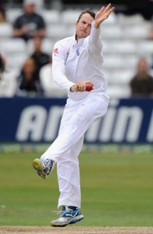 Graeme Swann played 60 Tests, taking 255 wickets at 29.97.