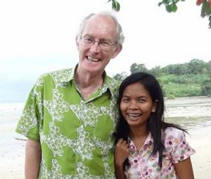 Being sued: Alan Morison and Chutima Sidasathian.
