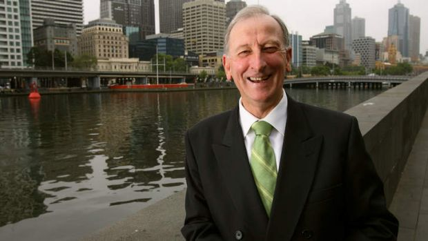 Back on deck: Bill Lawry is ready for Boxing Day.