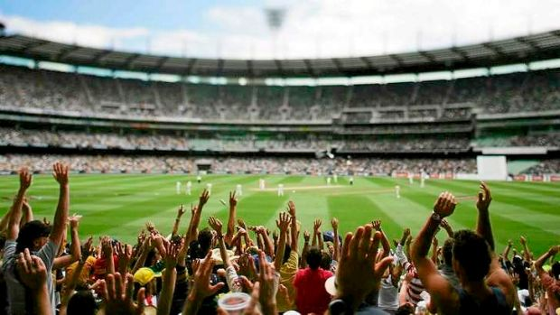 Record on the cards: The Boxing Day crowd at the MCG Ashes Test could top 90,000.
