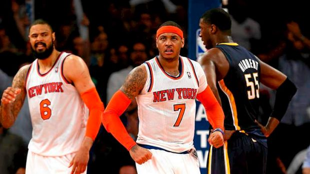 Disappointing: The New York Knicks.