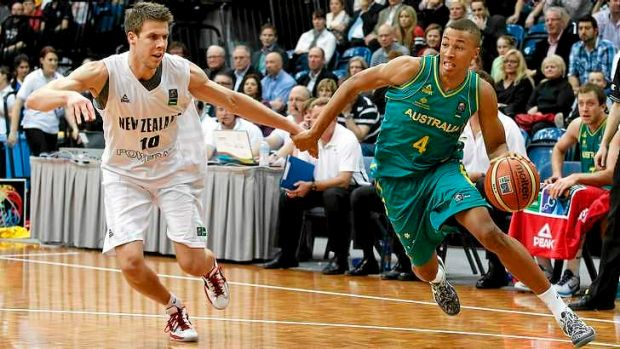 Bound for the Big Show: Australian basketball prodigy Dante Exum.