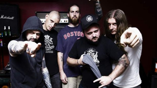 Grind band: King Parrot will thrash into New Year's Eve at Cherry Bar.