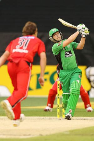 It's just cricket: The T20 Big Bash final will compete with the top of the table clash in the A-League.