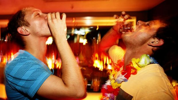 Shot to the heart: It's disturbing to think just how many Australians suffer the short-term effects of alcohol on a ...
