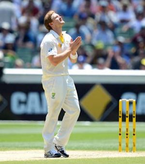 What should I do now? A luckless Shane Watson.
