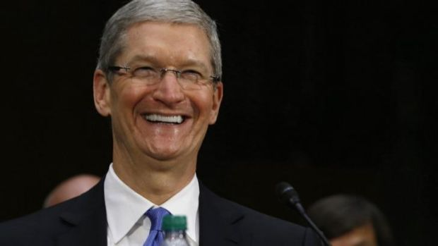 "The split will make the stock 'more accessible to a larger number of  investors."": Apple CEO Tim Cook."