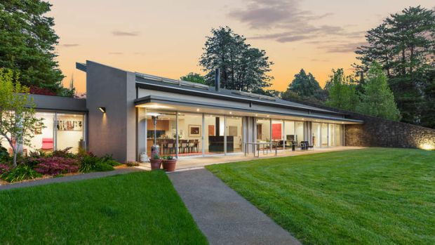 Lavish... 23 Mugga Way, Red Hill has been sold for a record price this year of $4.38 million.