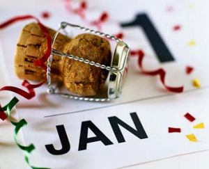 New Year's resolutions: It's no surprise that most tend to be of a financial or fitness bent.