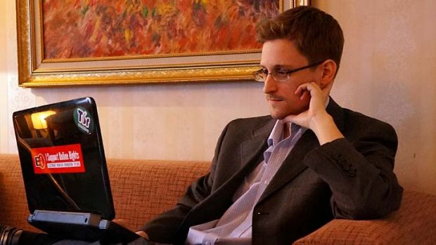 US intelligence whistleblower Edward Snowden: Disclosures prompted widespread criticism of Google and other internet ...