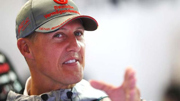 Still in a critical condition: Formula One legend Michael Schumacher.