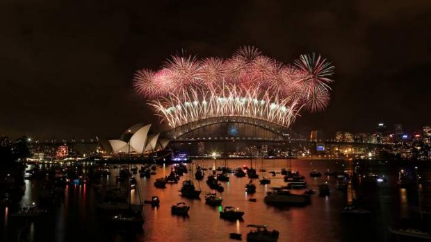 Reg Mombassa helped create Sydney's New Year's Eve fireworks.