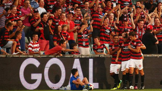 Well supported: Western Sydney Wanderers.