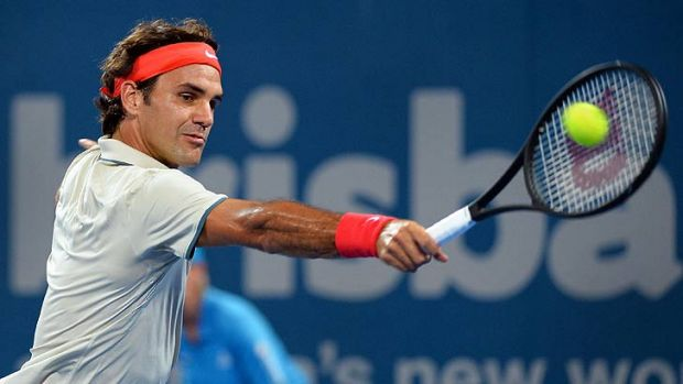 Roger Federer takes on Finnish journeyman Jarkko Nieminen on Pat Rafter Arena.