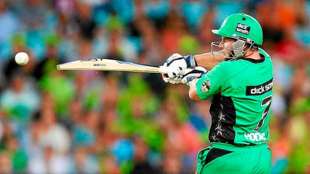 On fire: Brad Hodge's Melbourne Stars are the team to beat in the T20 Big Bash.