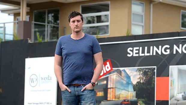 David Farrell fears his hopes of buying a Melbourne property have become a distant dream.