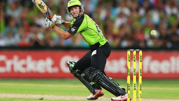 Mike Hussey of the Thunder says he would like to represent WA in the Warriors' Sheffield Shield line-up.