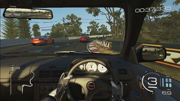Mount Panorama in Forza Motorsport 5.
