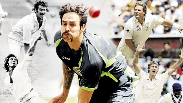 While Mitchell Johnson has been on fire, Australia's current attack has nothing on the likes of Lillee, Thomson, Warne ...