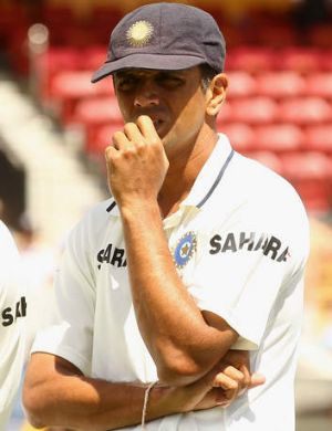 Hot shot: Rahul Dravid says Hodge is one of few players who can 'whack good bowlers'.