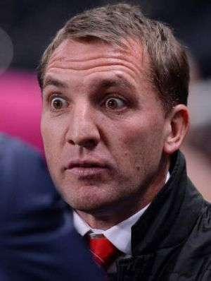"""""""In terms of geography, I certainly wasn?t questioning the integrity of referees"""": Liverpool manager Brendan Rodgers."""