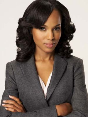 Kerry Washington in <em>Scandal</em>.