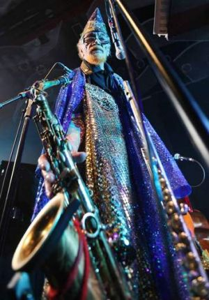 Space is the place: Marshall Allen.