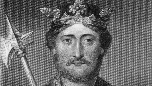 Richard I of England (1157-1199), known as 'Richard The Lionheart'.