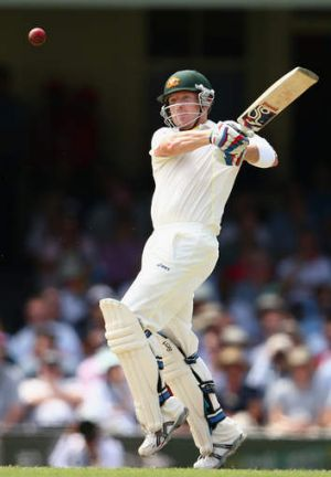 Game-changer: Brad Haddin wrestled back control of the fifth Ashes Test for Australia.