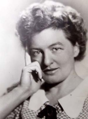 A young P.L. Travers.
