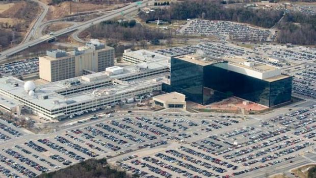 The NSA headquarters at Fort Meade, Maryland.