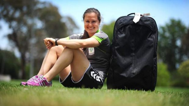 Canberra United star Kendall Fletcher is back in Australia ready for the W-League to resume.