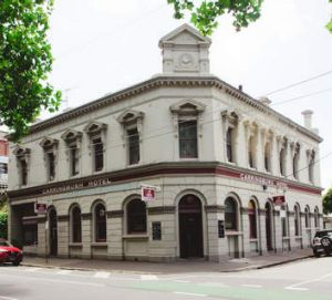 Carringbush Hotel in Collingwood.