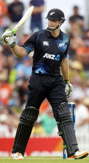 Martin Guptill of New Zealand.