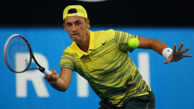 Bernard Tomic: ''I've put in the hard work.''.