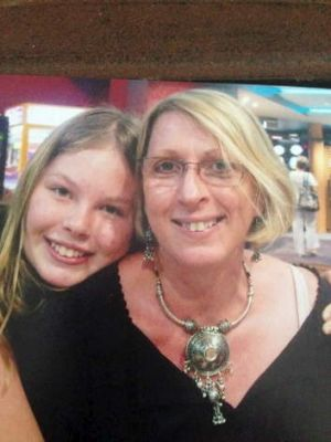 Noelene Bischoff, 54, and her daughter, Yvan Jeana Yuri Bischoff.