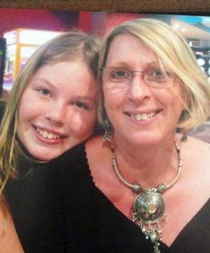 Inseparable: Yvana and her mother, Noelene Bischoff.