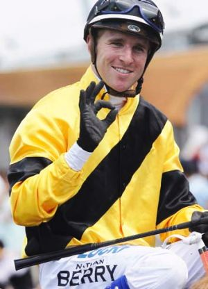 "Nathan Berry: ""It is definitely my biggest test as a jockey so far."""