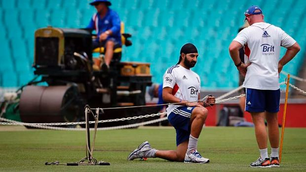 Nothing working out: Monty Panesar.