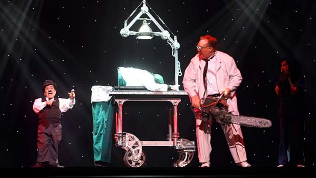 The Operation, part of The Illusionists theatre show.