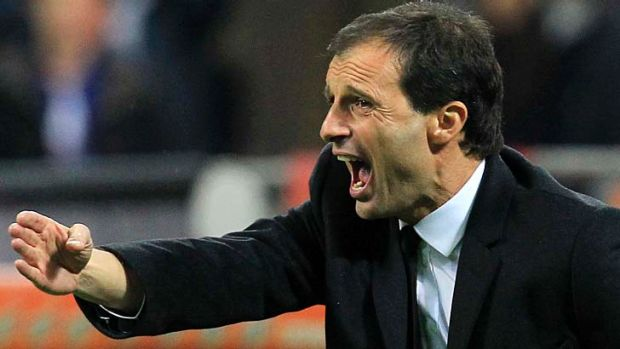 AC Milan's coach Massimiliano Allegri has confirmed he will leave the club at the end of the season.